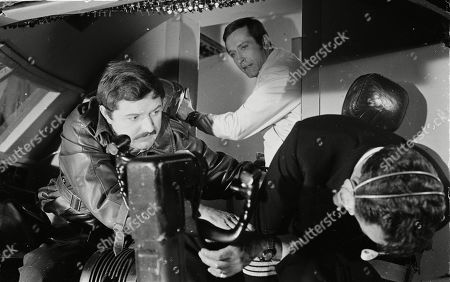 Peter Bowles as Borowitsch, Joel Fabiani as Stewart Sullivan and Bernard Horsfall as Captain Carter
