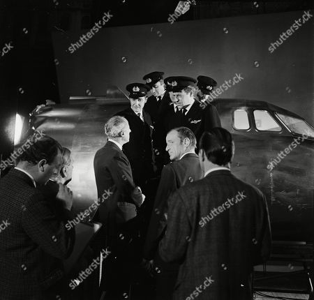 John Gabriel as Air Traffic Controller, Charles Houston as Stevens, Michael Stevens as A member of an airline crew, Bernard Horsfall as Captain Carter and Frederick Treves as Air Traffic Controller
