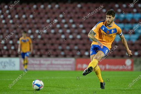 Editorial image of Scunthorpe United v Mansfield Town, EFL Trophy, 10scores a goal 1-12020 - 10 Nov 2020