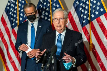 Editorial photo of Senate Republicans, Washington, United States - 10 Nov 2020