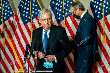 Editorial picture of Senate Republicans, Washington, United States - 10 Nov 2020