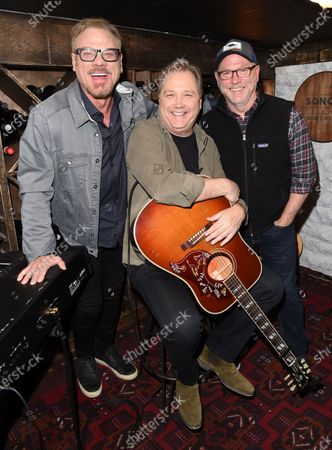 Editorial picture of Phil Vassar's 'Songs from the Cellar', BTS with Steve Wariner USA - 10 Nov 2020