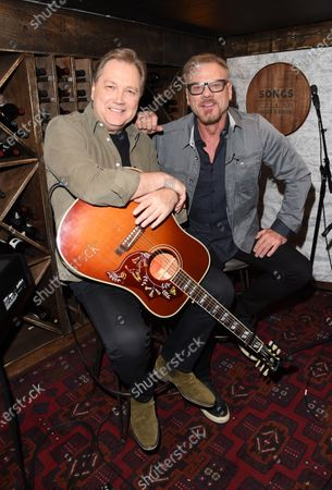 Steve Wariner stops by the Circle Television Network, 'Phil Vassar's Songs from the Cellar', in Nashville, TN. 'Working with the greats', Airing November 12, 2020 on Circle @PhilVassarSFTC @circleallaccess