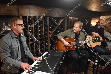 Editorial image of Phil Vassar's 'Songs from the Cellar', BTS with Steve Wariner USA - 10 Nov 2020
