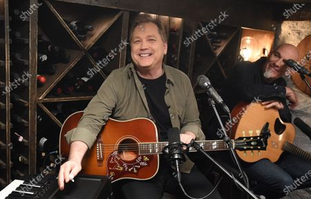 Editorial photo of Phil Vassar's 'Songs from the Cellar', BTS with Steve Wariner USA - 10 Nov 2020