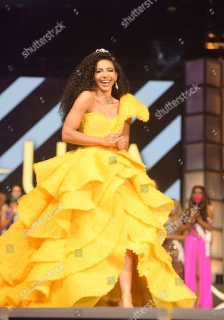 Stock Image of Cheslie Kryst, Miss USA 2019