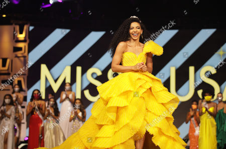 Stock Photo of Cheslie Kryst, Miss USA 2019