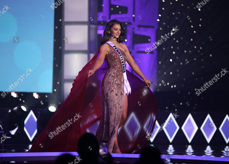 Editorial picture of Miss USA Preliminary Competition, Evening Gowns, Memphis, USA - 06 Nov 2020
