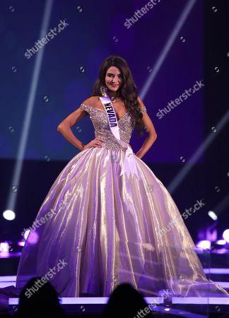 Stock Picture of Victoria Olona, Miss Nevada USA 2020