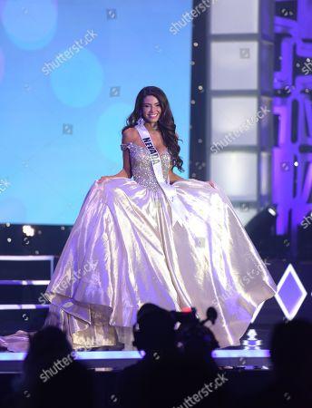 Stock Photo of Victoria Olona, Miss Nevada USA 2020