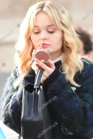 Editorial picture of 'Gossip Girl' on set filming, New York, USA - 10 Nov 2020