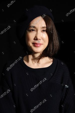 """Mariko Tsutsui - The 33rd Tokyo International Film Festival. Press conference for the movie """"A Girl Missing"""" in Tokyo, Japan on November 7, 2020."""