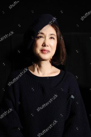 "Mariko Tsutsui - The 33rd Tokyo International Film Festival. Press conference for the movie ""Harmonium"" in Tokyo, Japan on November 7, 2020."
