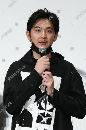 "Stock Photo of Ryuhei Matsuda - The 33rd Tokyo International Film Festival. Press conference for the movie ""ZOKKI"" in Tokyo, Japan on November 8, 2020."