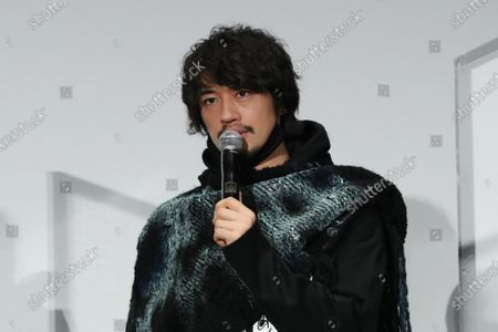 "Takumi Saito - The 33rd Tokyo International Film Festival. Press conference for the movie ""ZOKKI"" in Tokyo, Japan on November 8, 2020."
