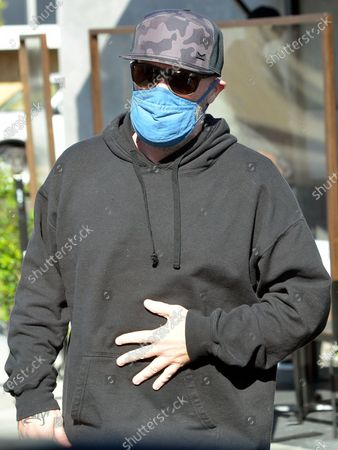 Stock Photo of Fred Durst wears a face mask as he is seen out in West Hollywood