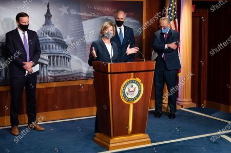 Editorial image of Democratic Senate Press Conference in Washington, US - 10 Nov 2020