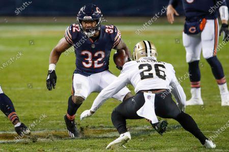 Editorial photo of Saints Bears Football, Chicago, United States - 01 Nov 2020