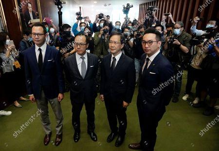 Editorial photo of Lawmakers Disqualified, Hong Kong, Hong Kong - 11 Nov 2020