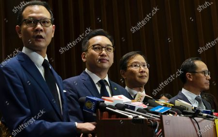 Editorial image of Lawmakers Disqualified, Hong Kong, Hong Kong - 11 Nov 2020