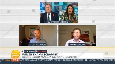 Piers Morgan, Susanna Reid, Kevin Maguire and Andrew Pierce