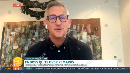 Editorial picture of 'Good Morning Britain' TV Show, London, UK - 11 Nov 2020