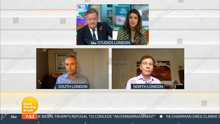 Piers Morgan, Susanna Reid, Kevin Maguire and Andrew Pierce
