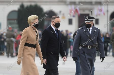 Editorial image of Polish Independence Day celebrations in Warsaw, Poland - 11 Nov 2020