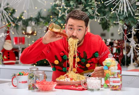 "Stock Photo of Comedian Jason Manford Joins Sky Cinema on Search for UK's Biggest Elf Fan - as New Research Shows Christmas Spirit is on the Wane. New research finds Christmas spirit has evaporated for four in 10 (41%) Brits - but with three quarters (76%) saying Christmas spirit is needed now more than ever before, Sky Cinema has the answer.As Christmas films were revealed to be the best way to inject some sparkle and the Will Ferrell-classic Elf voted the top film to get people feeling Christmassy (27%) - Sky Cinema has teamed up with Comedian Jason Manford to find the UK's biggest Elf fan.The winner will receive an Elf-inspired home transformation kit, to turn their home into a festive wonderland both inside and out. The kit will take cues from the film's candy cane forest, Gimbles department store and the elves' workshop. Winners will also receive £3,000 towards their favourite festive goodies, guaranteed to add sparkle to even the most lacklustre Christmas cheer.The research has revealed that Christmas spirit wanes on the approach to mid-twenties, with the average Brit losing excitement for the big day by the time they're 23. More than half (55%) of Brits have lost their Christmas mojo by this age. Despite not having young children (42%), financial pressures (35%) and no longer believing in Santa (29%) often hindering Christmas spirit, 36% are desperate to reinvigorate the childhood magic from years gone by. And 78% of Brits will try especially hard this year to ensure Christmas is enjoyable, despite the Covid restrictions in place.Comedian, Jason Manford commented: ""I'm a huge fan of all things Christmas and Elf so I'm very excited about this competition! With this prize, more is more. Think paper chains, a sea of swirly twirly gumdrops, plenty of six-inch ribbon curls and seven levels of the candy cane forest."