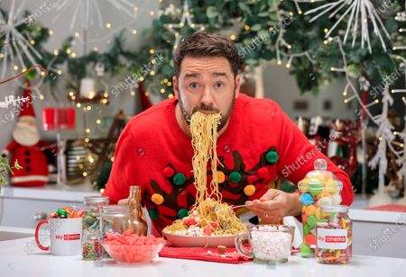"Stock Picture of Comedian Jason Manford Joins Sky Cinema on Search for UK's Biggest Elf Fan - as New Research Shows Christmas Spirit is on the Wane. New research finds Christmas spirit has evaporated for four in 10 (41%) Brits - but with three quarters (76%) saying Christmas spirit is needed now more than ever before, Sky Cinema has the answer.As Christmas films were revealed to be the best way to inject some sparkle and the Will Ferrell-classic Elf voted the top film to get people feeling Christmassy (27%) - Sky Cinema has teamed up with Comedian Jason Manford to find the UK's biggest Elf fan.The winner will receive an Elf-inspired home transformation kit, to turn their home into a festive wonderland both inside and out. The kit will take cues from the film's candy cane forest, Gimbles department store and the elves' workshop. Winners will also receive £3,000 towards their favourite festive goodies, guaranteed to add sparkle to even the most lacklustre Christmas cheer.The research has revealed that Christmas spirit wanes on the approach to mid-twenties, with the average Brit losing excitement for the big day by the time they're 23. More than half (55%) of Brits have lost their Christmas mojo by this age. Despite not having young children (42%), financial pressures (35%) and no longer believing in Santa (29%) often hindering Christmas spirit, 36% are desperate to reinvigorate the childhood magic from years gone by. And 78% of Brits will try especially hard this year to ensure Christmas is enjoyable, despite the Covid restrictions in place.Comedian, Jason Manford commented: ""I'm a huge fan of all things Christmas and Elf so I'm very excited about this competition! With this prize, more is more. Think paper chains, a sea of swirly twirly gumdrops, plenty of six-inch ribbon curls and seven levels of the candy cane forest."
