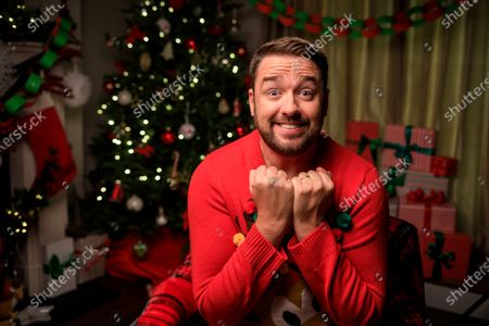 "Stock Image of Comedian Jason Manford Joins Sky Cinema on Search for UK's Biggest Elf Fan - as New Research Shows Christmas Spirit is on the Wane. New research finds Christmas spirit has evaporated for four in 10 (41%) Brits - but with three quarters (76%) saying Christmas spirit is needed now more than ever before, Sky Cinema has the answer.As Christmas films were revealed to be the best way to inject some sparkle and the Will Ferrell-classic Elf voted the top film to get people feeling Christmassy (27%) - Sky Cinema has teamed up with Comedian Jason Manford to find the UK's biggest Elf fan.The winner will receive an Elf-inspired home transformation kit, to turn their home into a festive wonderland both inside and out. The kit will take cues from the film's candy cane forest, Gimbles department store and the elves' workshop. Winners will also receive £3,000 towards their favourite festive goodies, guaranteed to add sparkle to even the most lacklustre Christmas cheer.The research has revealed that Christmas spirit wanes on the approach to mid-twenties, with the average Brit losing excitement for the big day by the time they're 23. More than half (55%) of Brits have lost their Christmas mojo by this age. Despite not having young children (42%), financial pressures (35%) and no longer believing in Santa (29%) often hindering Christmas spirit, 36% are desperate to reinvigorate the childhood magic from years gone by. And 78% of Brits will try especially hard this year to ensure Christmas is enjoyable, despite the Covid restrictions in place.Comedian, Jason Manford commented: ""I'm a huge fan of all things Christmas and Elf so I'm very excited about this competition! With this prize, more is more. Think paper chains, a sea of swirly twirly gumdrops, plenty of six-inch ribbon curls and seven levels of the candy cane forest."