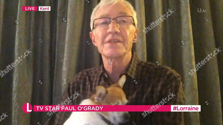 Stock Photo of Paul O'Grady
