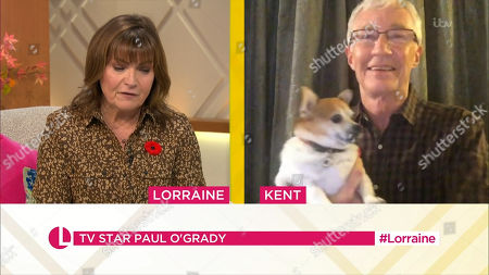 Lorraine Kelly and Paul O'Grady