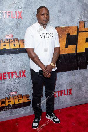 Editorial picture of 'Luke Cage' season 2 premiere, New York, USA - 21 Jun 2018