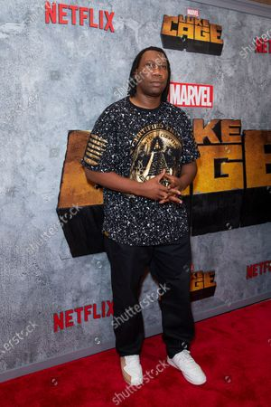 Stock Photo of KRS-One attends the Luke Cage Season 2 premiere at The Edison Ballroom