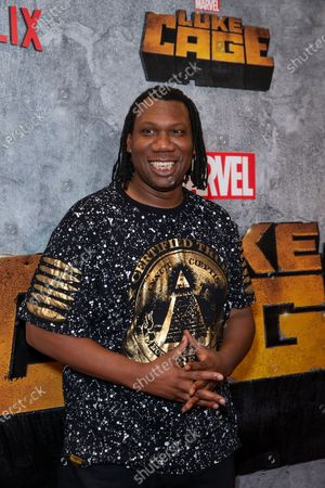 Stock Picture of KRS-One attends the Luke Cage Season 2 premiere at The Edison Ballroom