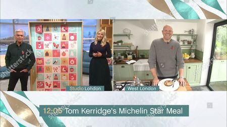 Phillip Schofield, Holly Willoughby and Tom Kerridge