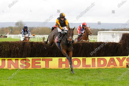 Maypole Class and Jonjo O'Neill win the Bangor-on-Dee Handicap Chase from Subcontinent at Bangor-on-Dee.