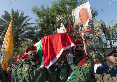 Editorial photo of Palestinians Obit Erekat, Jericho, Palestinian Territories - 11 Nov 2020