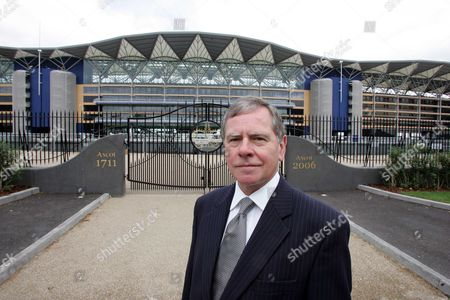 Stock Image of Howard Shiplee Redevelopment Chief Executive At Ascot Racecourse And Will Now Oversee The Building Of The 2012 Olympics Projects Picture By Glenn Copus