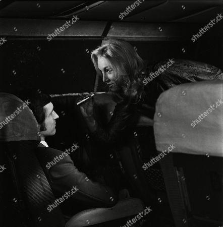 Stock Photo of Joel Fabiani as Stewart Sullivan and Katherine Schofield as Miss Garwood