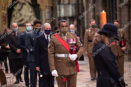 Editorial picture of Remembrance Day, London, UK - 11 Nov 2020