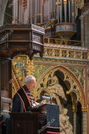The Archbishop of Canterbury, The Most Reverend and Right Honourable Justin Welby gives the Sermon.