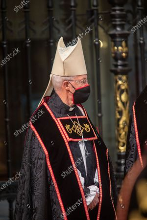 The Archbishop of Canterbury, The Most Reverend and Right Honourable Justin Welby.