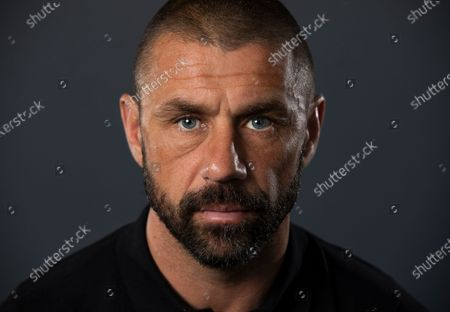England and Sunderland striker Kevin Phillips at home in Lichfield.