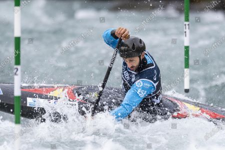 Editorial picture of ICF Canoe Slalom World Cup, C1 men, Pau, France - 06 Nov 2020