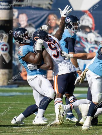 Editorial image of Bears Titans Football, Nashville, United States - 08 Nov 2020