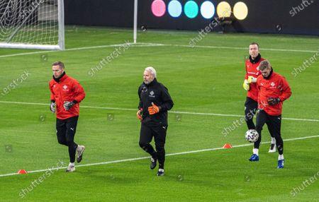Editorial image of Iceland training, Budapest, Hungary - 11 Nov 2020