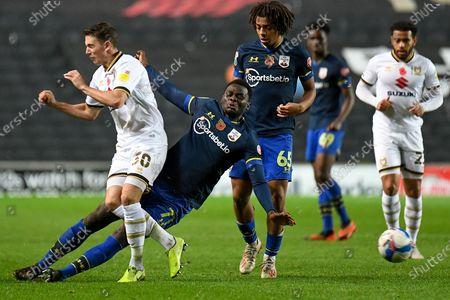 Editorial picture of Milton Keynes Dons v Southampton U21, EFL Trophy - 11 Nov 2020