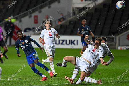 Editorial image of Milton Keynes Dons v Southampton U21, EFL Trophy - 11 Nov 2020